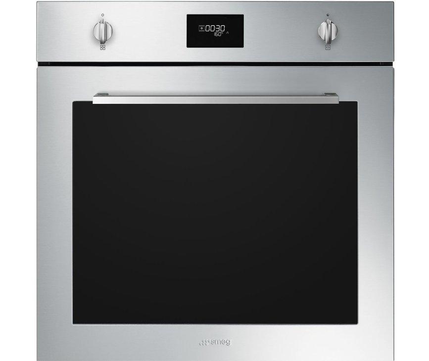 Smeg SFP6401TVX1 inbouw oven met pyrolyse - zelfreinigend - rvs