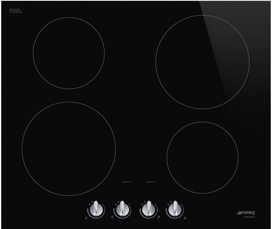 Smeg SI264DM induaSmeg SI264DM inbouw inductie kookplaat met knoppenctie inbouw kookplaat