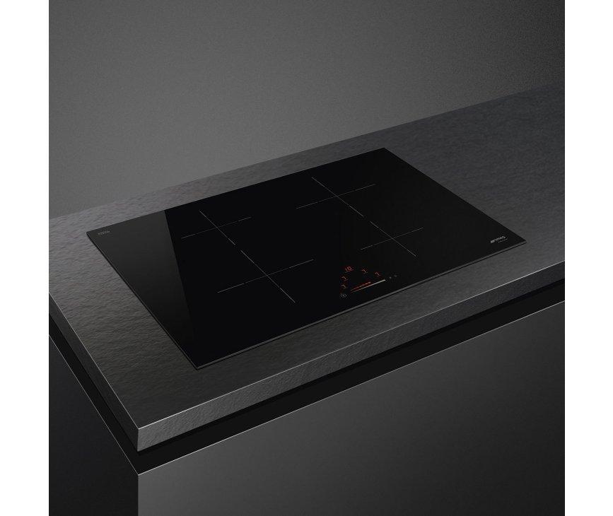Smeg SI4742D inbouw inductie kookplaat - 70 cm. breed