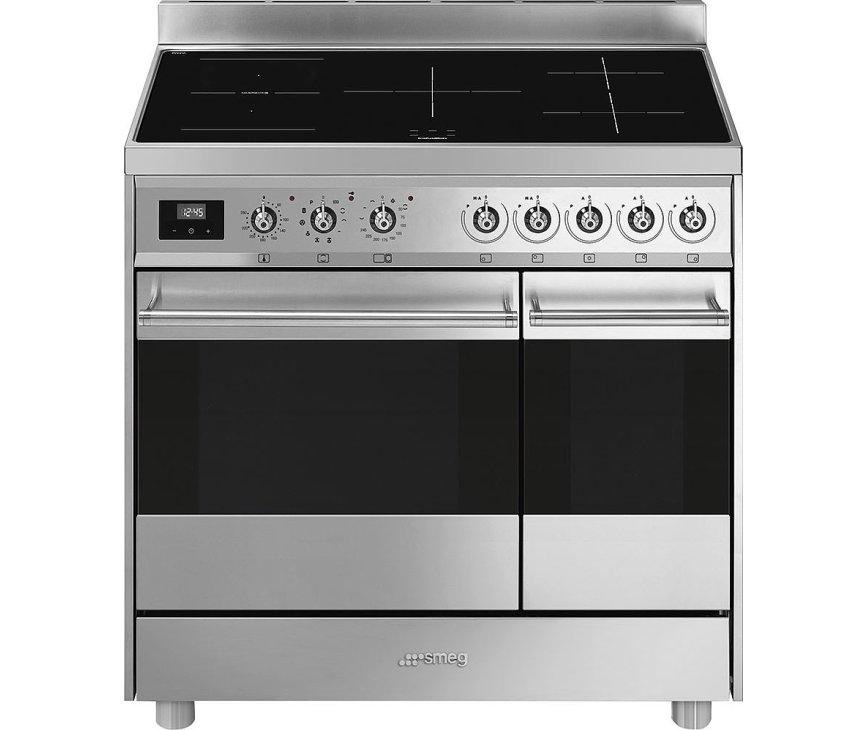 Smeg C92IPX9 inductie fornuis - dubbele oven