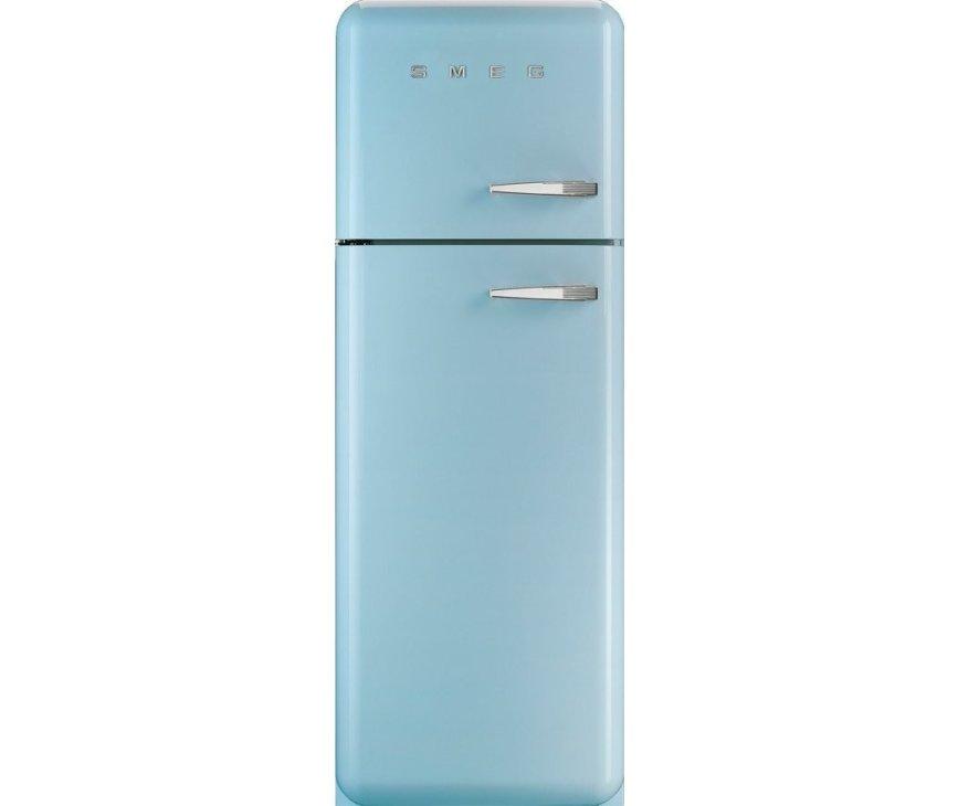 Smeg FAB30LAZ1 koelkast pastelblauw - linksdraaiend