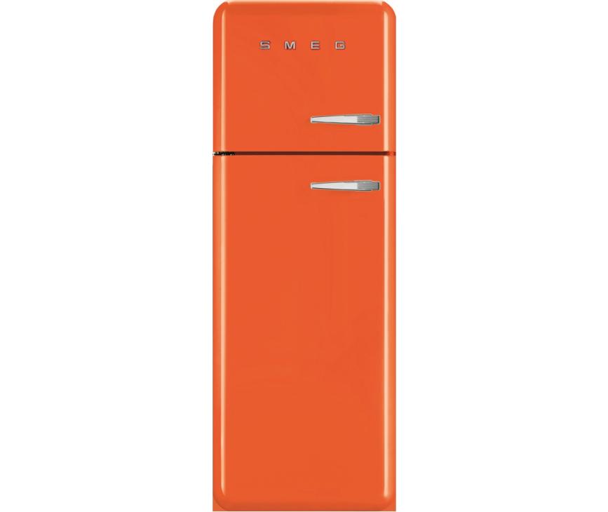 Smeg FAB30LO1 oranje koelkast - linksdraaiend
