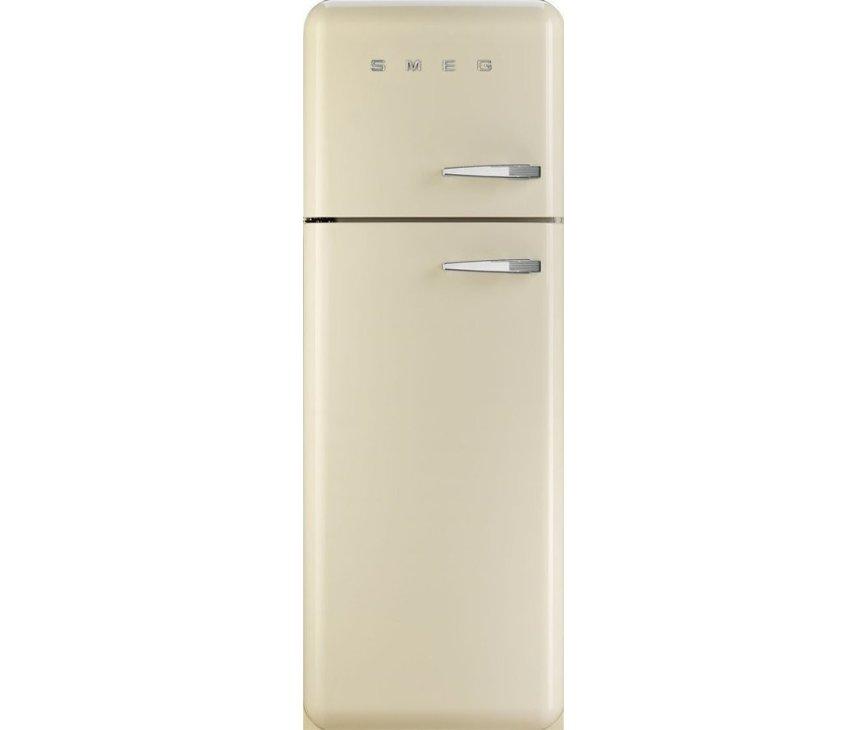 Smeg FAB30LP1 koelkast creme - linksdraaiend