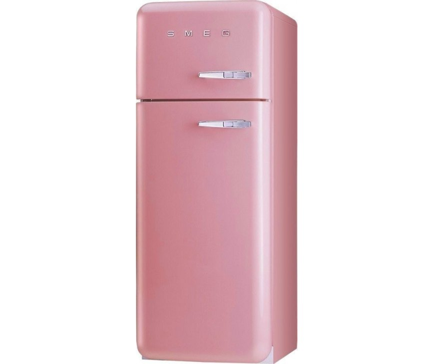 Smeg FAB30LRO1 roze koelkast - linksdraaiend