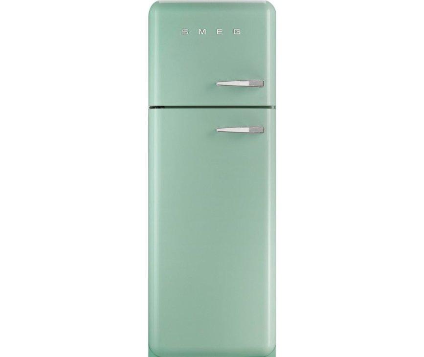 Smeg FAB30LV1 koelkast watergroen - linksdraaiend