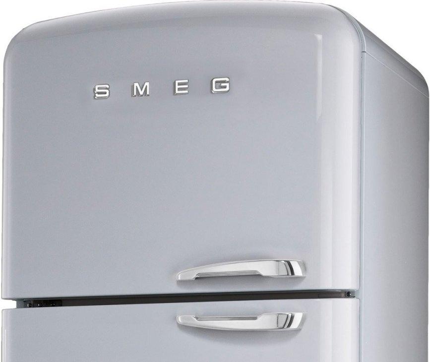 De Smeg FAB50XS beschikt over een no-frost vriesgedeelte welke nooit meer ontdooit hoeft te worden.