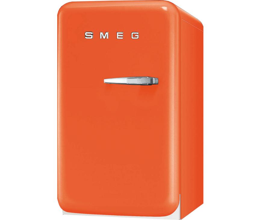 Smeg FAB5LO oranje koelkast - linksdraaiend