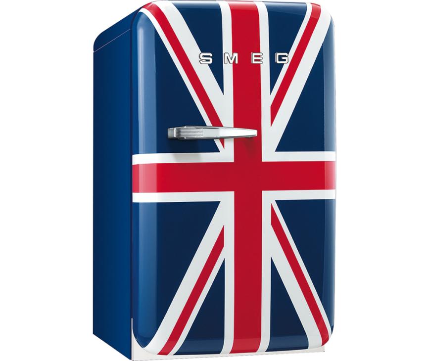 Smeg FAB5RUJ koelkast Union Jack - rechtsdraaiend