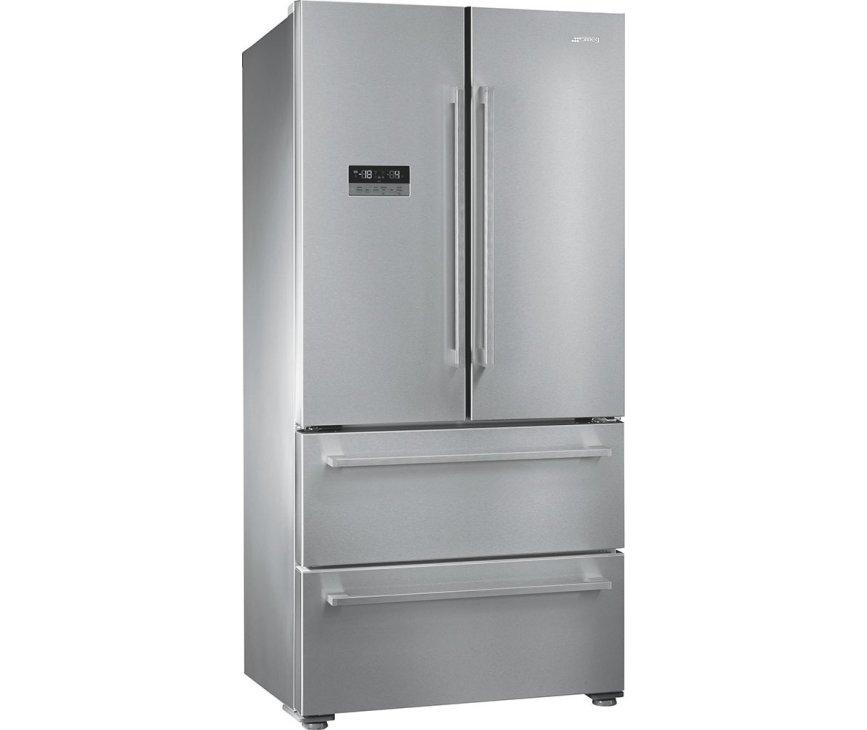 Smeg FQ55FXE1 french-door koelkast rvs