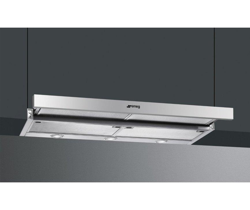 De Smeg KSET9XE dient onder een keukenkast gemonteerd te worden