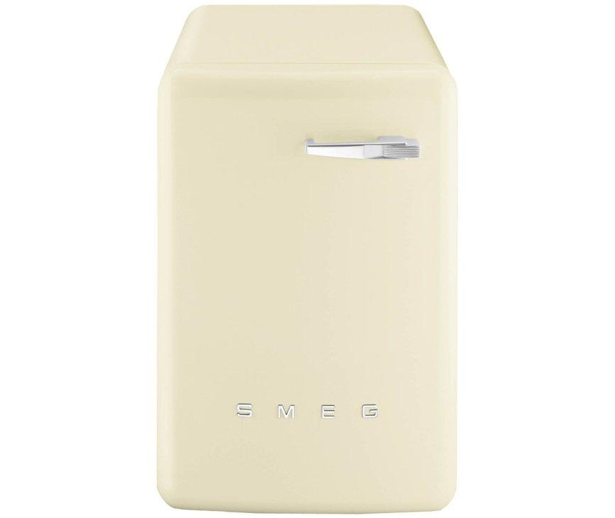 Bedieningspaneel van de Smeg LBB14CR-2 wasmachine creme