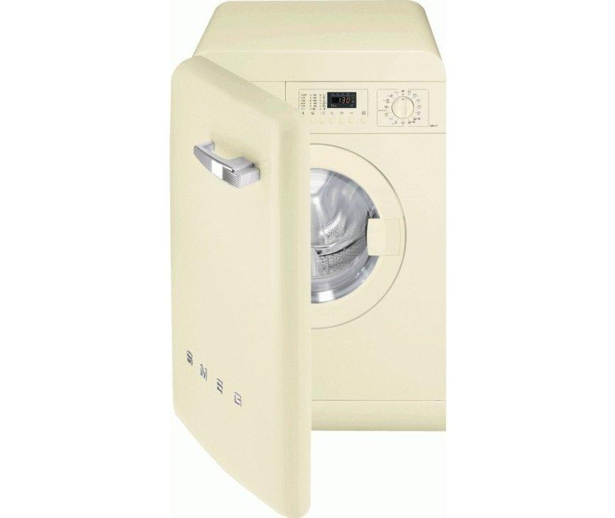 SMEG wasmachine crème LBB14CR-2