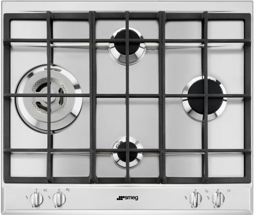 SMEG kookplaat inbouw P261XGHNLK