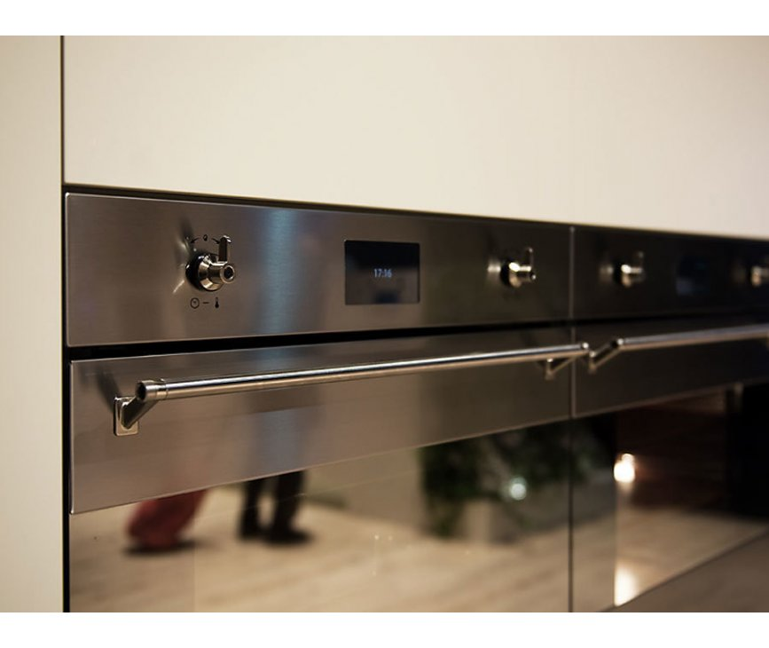 Foto van de Smeg SF390X inbouw oven