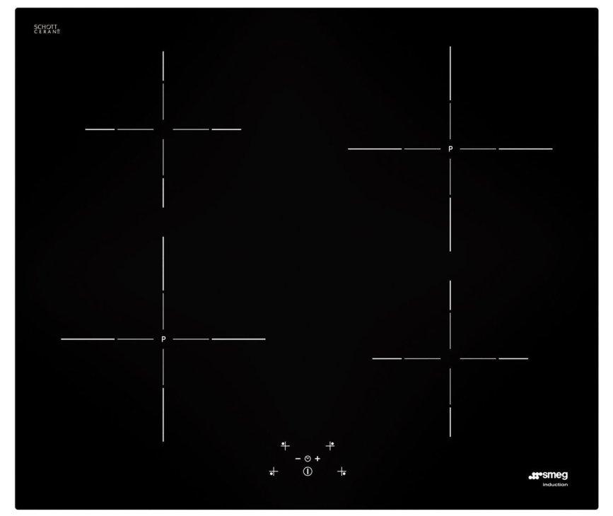 Smeg SI5641D inductie kookplaat