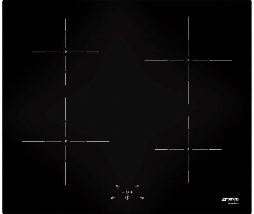SMEG kookplaat inductie SI5643D