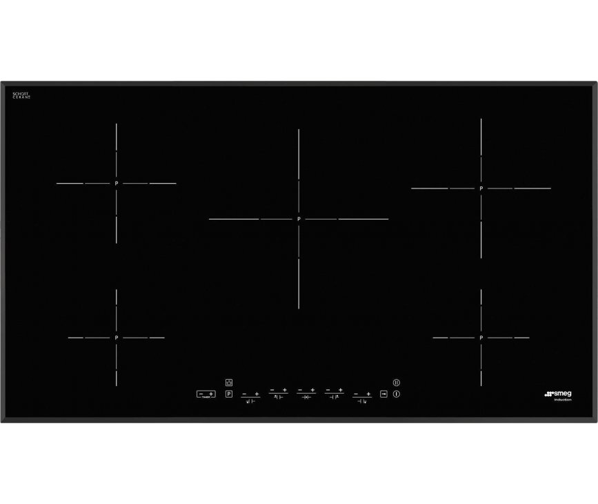 Smeg SIM592B inductie kookplaat