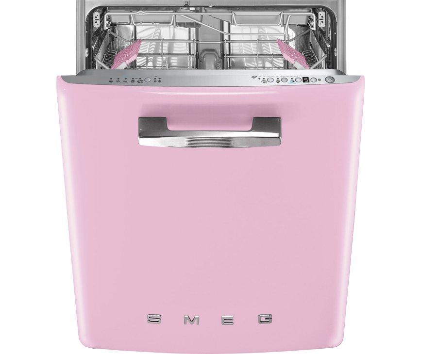 Smeg ST2FABPK2 onderbouw vaatwasser - retro roze