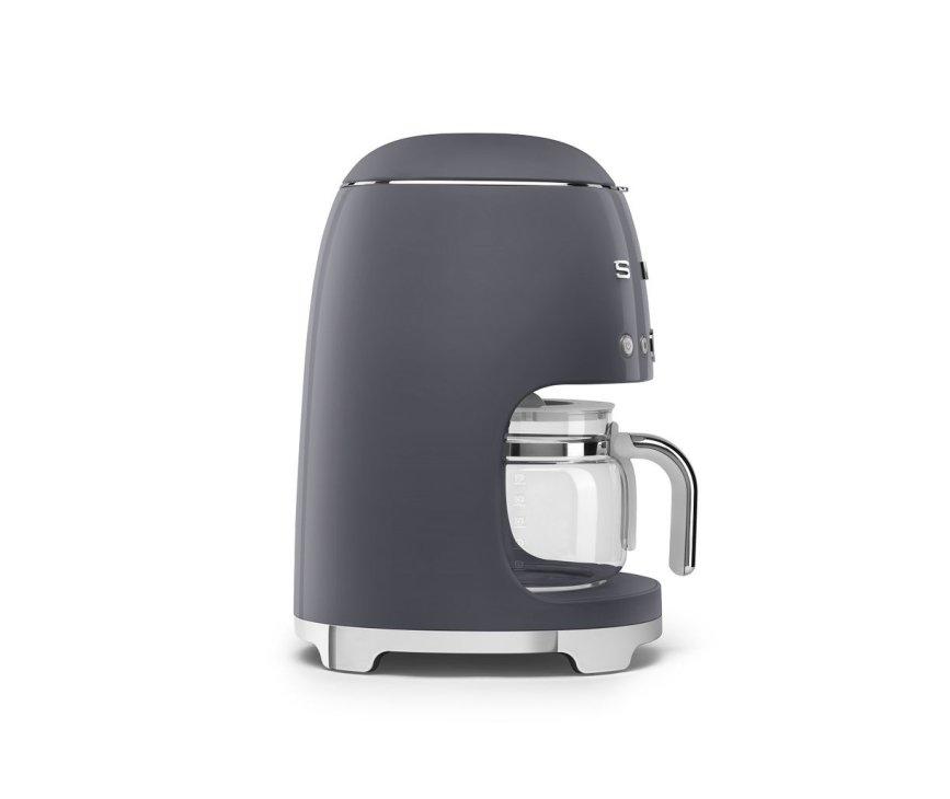 Smeg DCF02GREU koffiemachine - lei grijs