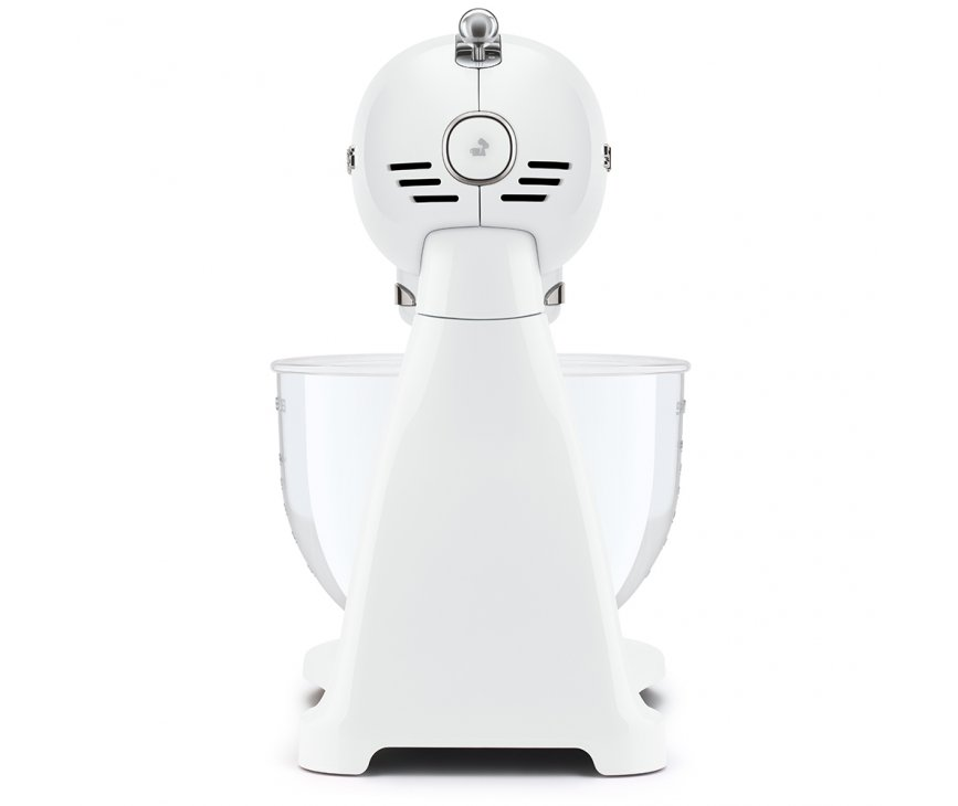 Smeg SMF13WHEU keukenmachine - volledig wit met glazen mengkom