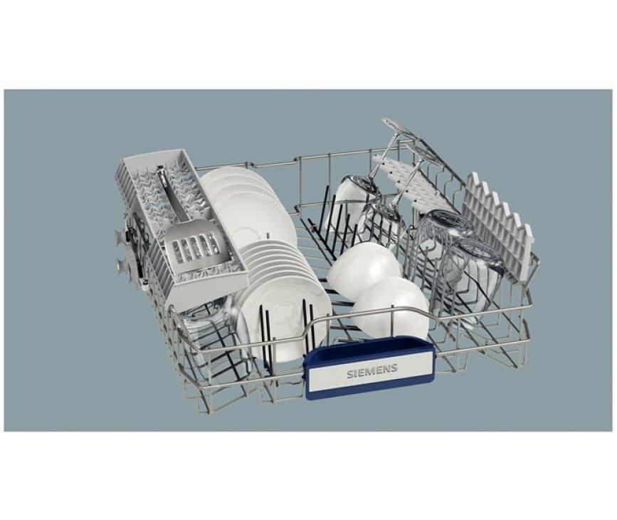Dankzij de doseerassistent in de Siemens SX68M046EU bent u verzekerd van een optimaal wasresultaat