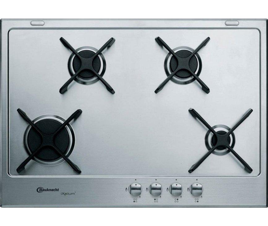 Bauknecht TGZ5470IXL inbouw gas kookplaat