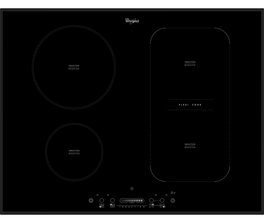 Whirlpool ACM816BA inductie kookplaat