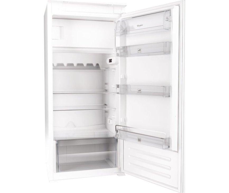 De binnenzijde van de Whirlpool ARG861 A+ inbouw koelkast