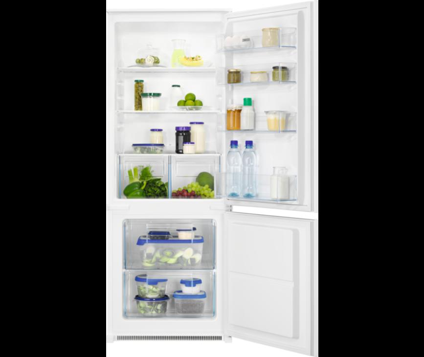 Zanussi ZNLN14FS inbouw koelkast - nis 144,1 cm.