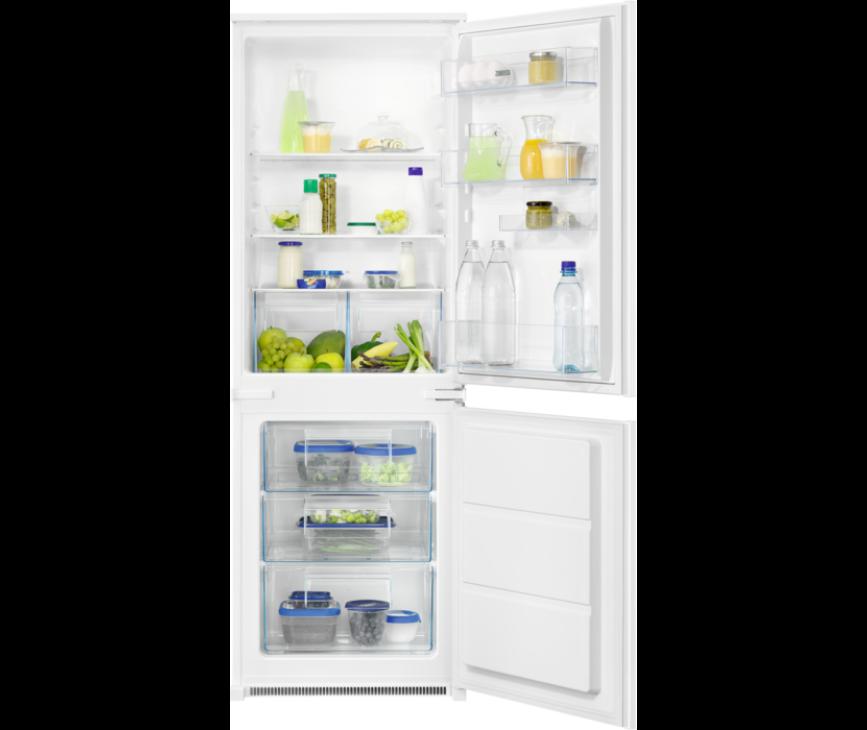 Zanussi ZNLN16FS1 inbouw koelkast - nis 158 cm.