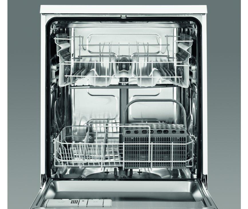Het interieur van de Zanussi ZDF26011WA vrijstaande vaatwasser wit