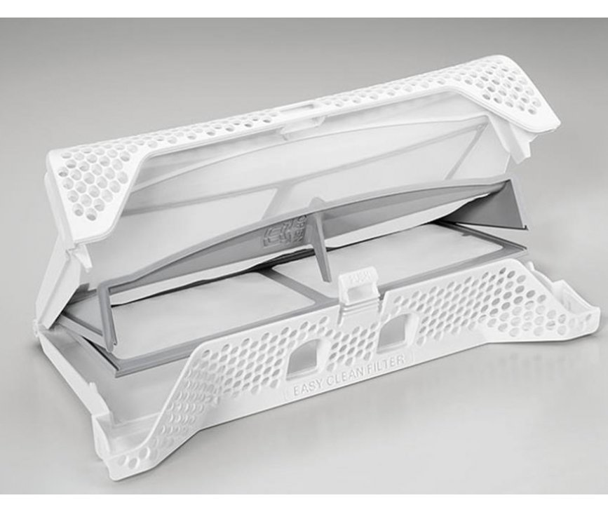 De Zanussi ZDH8333P warmtepomp is uitgevoerd met een dubbel filter voor nog betere filtering