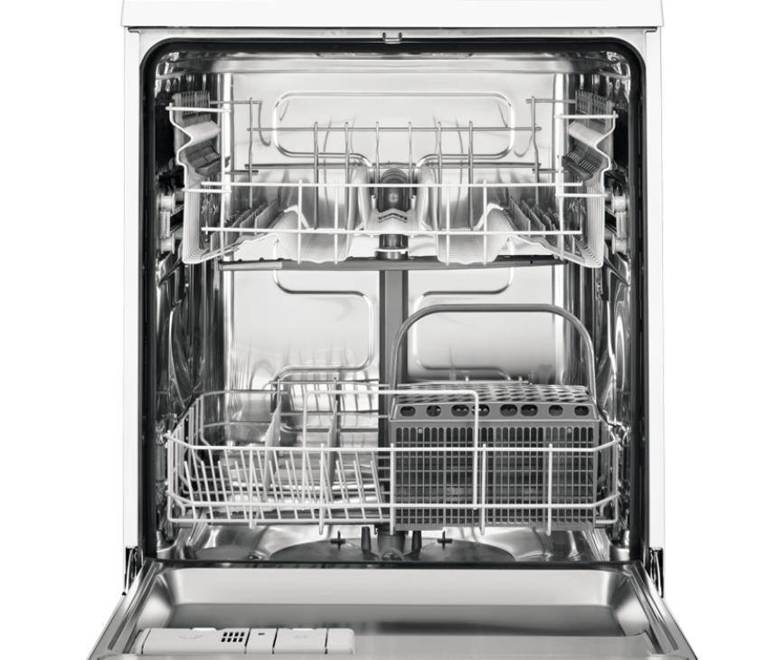 De Zanussi ZDI22001XA inbouw vaatwasser heeft een capaciteit van 13 couverts