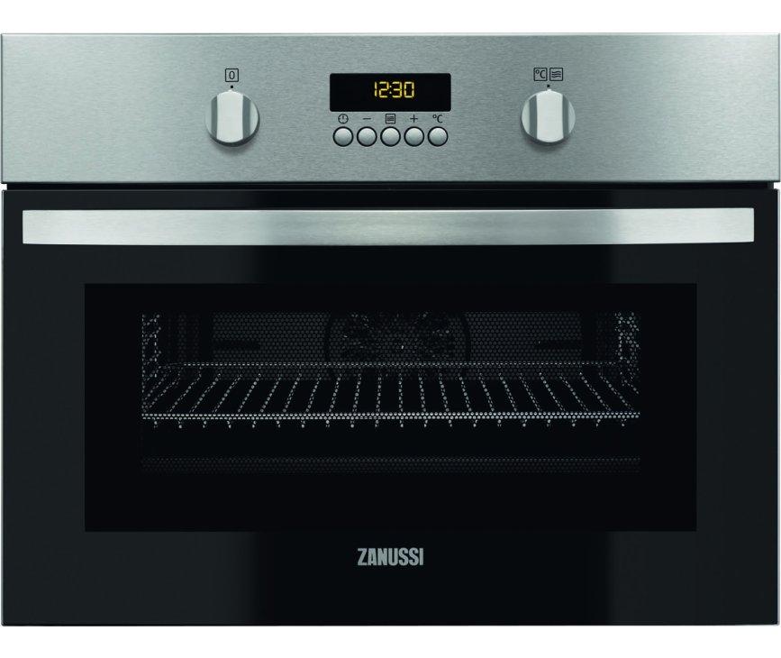 ZANUSSI oven met magnetron rvs ZNF44X