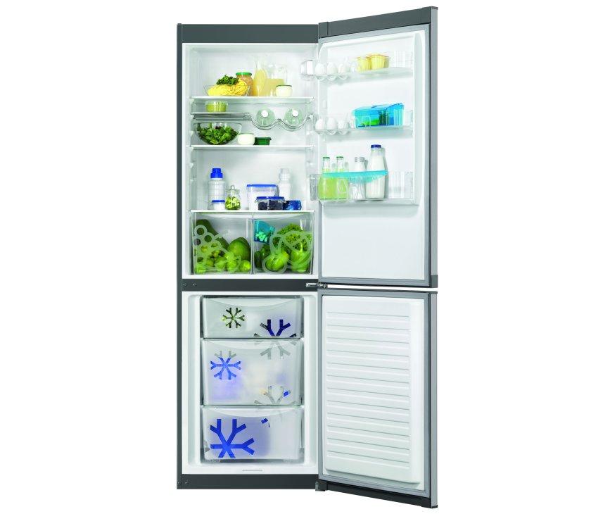 Zanussi ZRB34103XA koelkast rvs