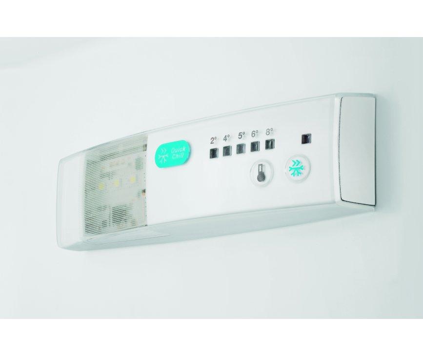De thermostaat van de Zanussi ZRB34214XA koelkast rvs