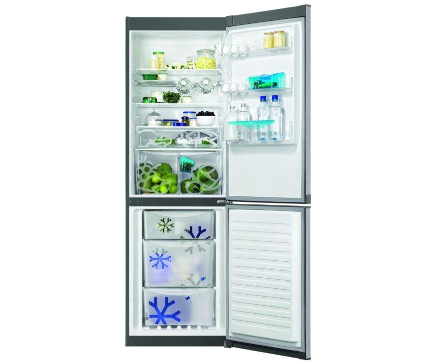 Zanussi ZRB34214XA koelkast rvs