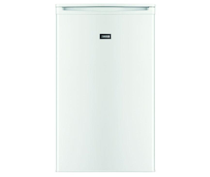 De Zanussi ZRG11600WA tafelmodel koelkast heeft een inhoud van 102 liter