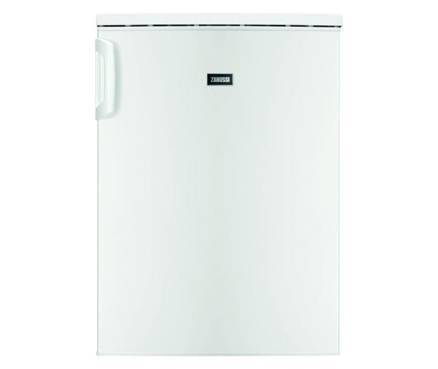 De Zanussi ZRG15801WA tafelmodel koelkast heeft een totale netto inhoud van 136 liter