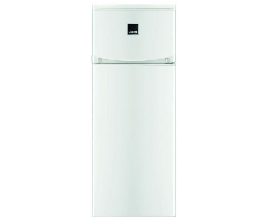 De buitenzijde van de Zanussi ZRT23100WA koelkast