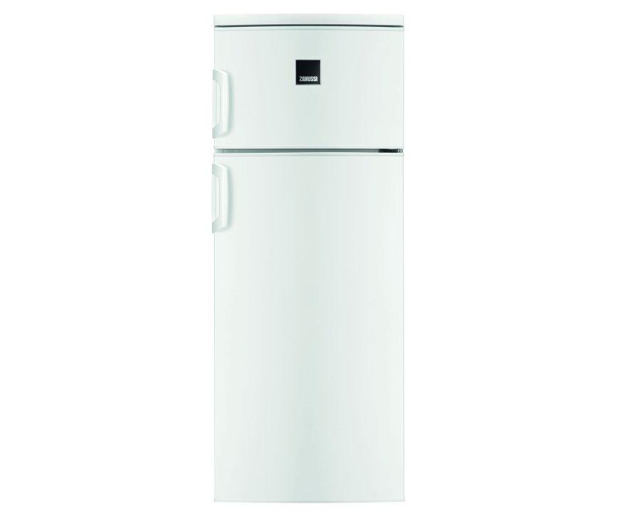 De Zanussi ZRT23101WA koelkast heeft een totoale netto inhoud van 228 liter