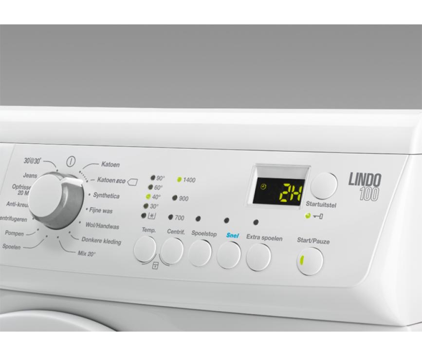 De Zanussi ZWF61403W wasmachine beschikt over 15 wasprogramma's