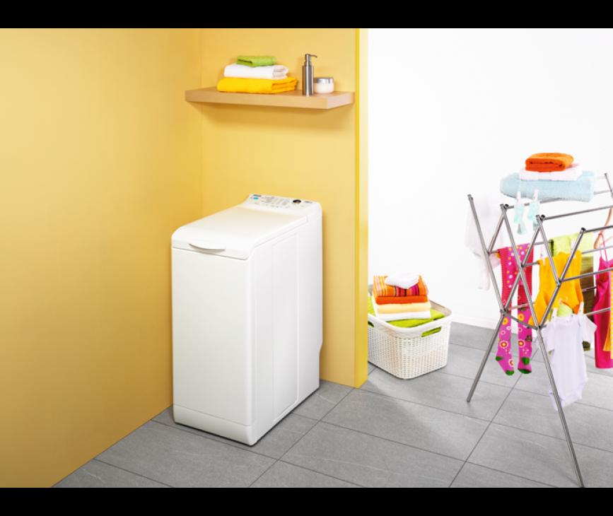 De Zanussi ZWY61205WA wasmachine bovenlader heeft een capacitiet van 6 kg