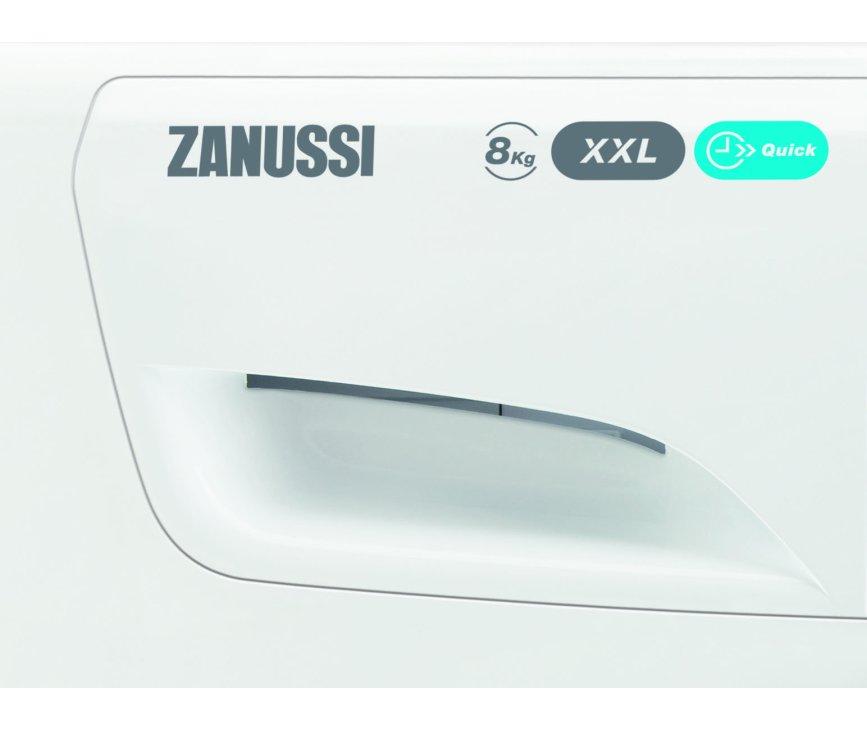 De Zanussi ZWF81463WH is een Lindo wasmachine met 8 kg. vulgewicht en Quick programma