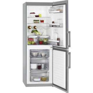 AEG koelkast grijs met vlekvrij rvs deur RCB531E1LX