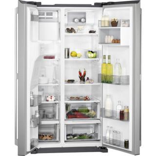 AEG side-by-side koelkast rvs-look RMB56111NX