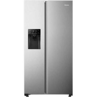 HISENSE side-by-side koelkast rvs-look RS650N4AC1