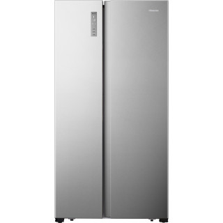 HISENSE side-by-side koelkast rvs-look RS677N4BID
