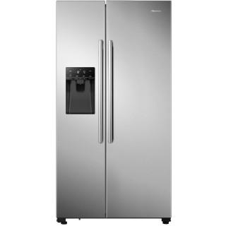 HISENSE side-by-side koelkast rvs-look RS694N4IIF