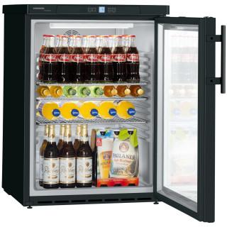 LIEBHERR professionele koelkast onderbouw zwart FKUv1613-24/744